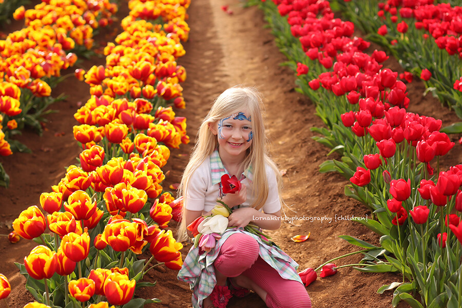 Beautiful Jenna ~ Tulips in Melbourne