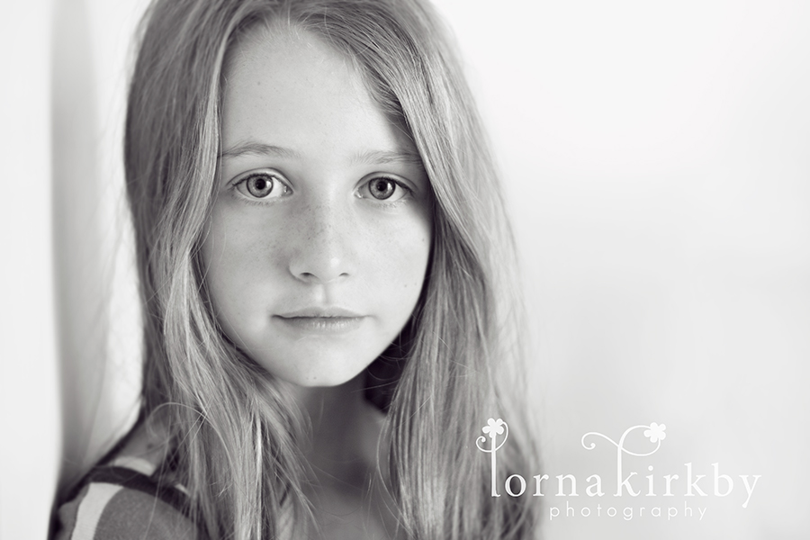 Child photography project, my beautiful daughter