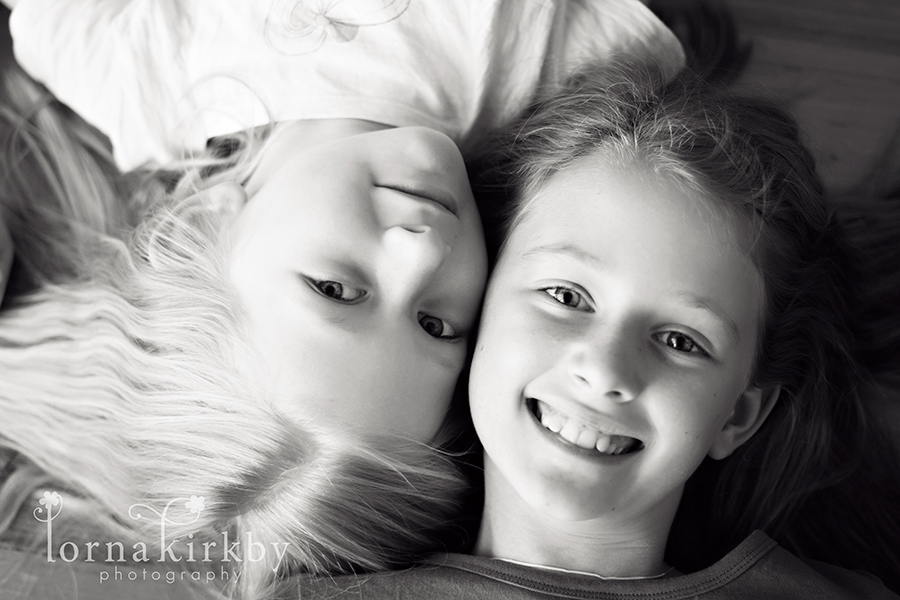My girls, child photography project