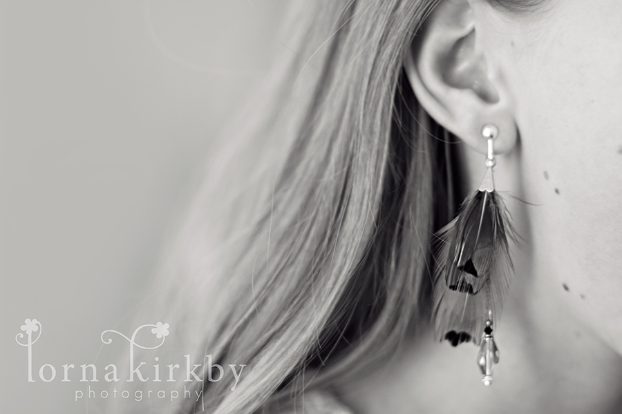 Growing up fast with a pair of earrings to match, child photography photo-a-day challenge