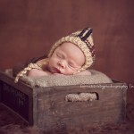 "A photography of a gorgeous newborn baby boy from ""Archer and Bodhi"" by Melbourne newborn photographer, Lorna Kirkby."