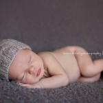 Image of newborn boy asleep, Sammy by Melbourne newborn photographer, Lorna Kirkby Photography