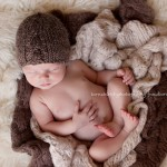 Photography of gorgeous newborn boy Sammy by Melbourne newborn photographer, Lorna Kirkby Photography