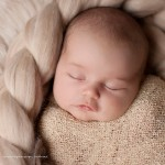 Picture of cute newborn girl from the lady Genevieve collection by Melbourne newborn photographer, Lorna Kirkby.