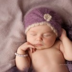 Newborn photographic images of lady Genevieve.