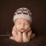 Photographic image of stunning newborn baby from the Finn Collection by Lorna Kirkby, Melbourne newborn photography.