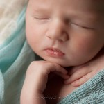 Image of a close up of a newborn princess from the Juliana portfolio in Melbourne newborn photography by Lorna Kirkby.
