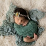 Newborn photographic images of beautiful Emmaline.