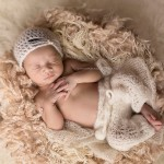 Picture from the Lucca collection of angelic newborn baby.