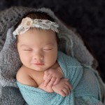 From adorable Arabella's portfolio: more creative newborn baby photos.