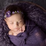 Creative newborn baby photos from the Xena session.