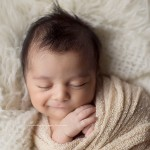 From Bautista's session: creative newborn baby photos.