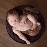 Creative newborn baby photos from Henry's session.