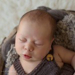 Rufus puckers beautifully for this newborn session.