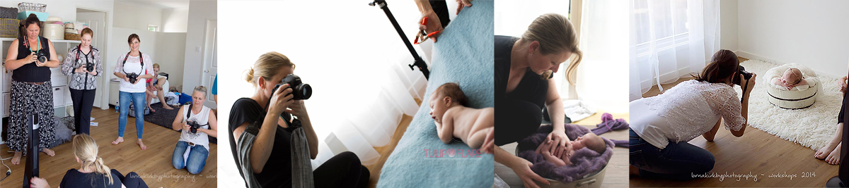 Newborn Photography Mentoring and Workshops.