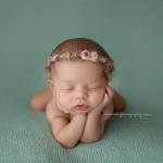 More newborn highlights: angelic Nikitta poses beautifully.