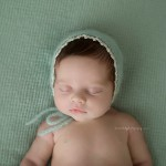 Angelic Sienna poses beautifully for newborn images.
