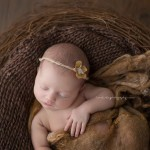 Gorgeous Elena in a nest for newborn delights.