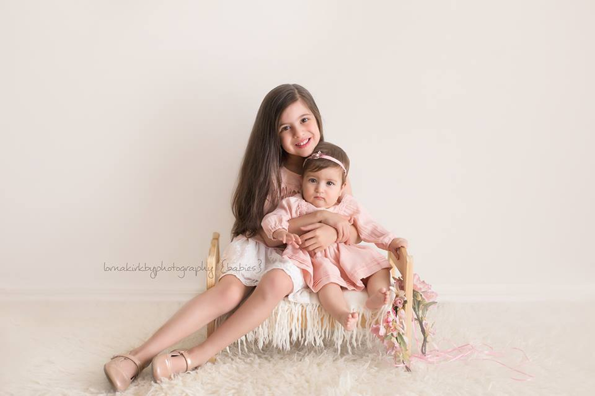 Baby Portraits, March - Adriana & Mariella