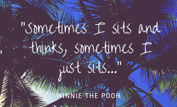 Inspirational Newborn Images, Winnie the Pooh Quote