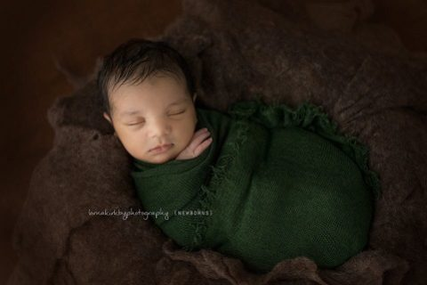 Newborn Portraits, May - Levi